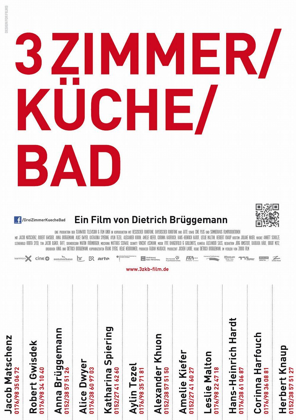 Filmplakat zu 3 Zimmer/Küche/Bad