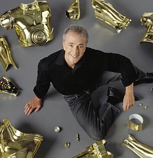 Anthony Daniels am Set von: Star Wars: Episode III - Die Rache der Sith