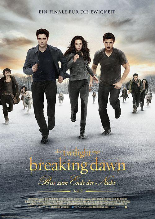 Filmplakat zu Die Twilight Saga: Breaking Dawn - Bis(s) zum Ende der Nacht (Teil 2)