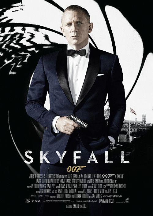 Filmplakat zu James Bond 007: Skyfall