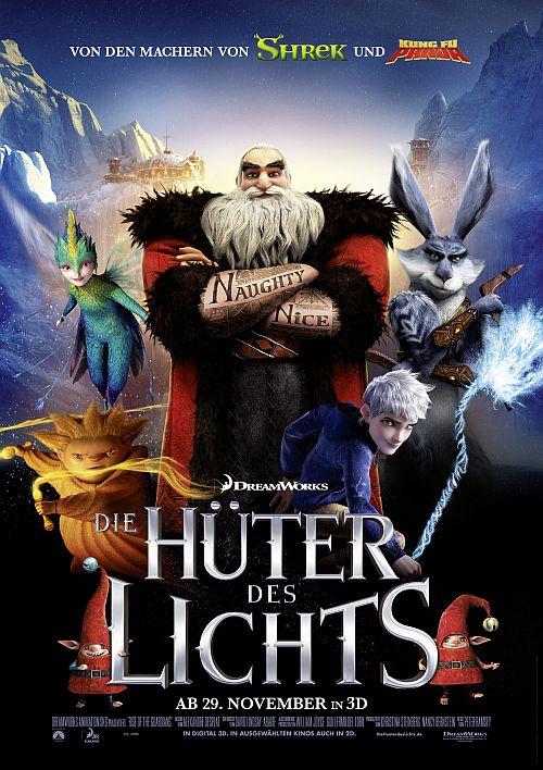 Filmplakat zu Die Hüter des Lichts 3D