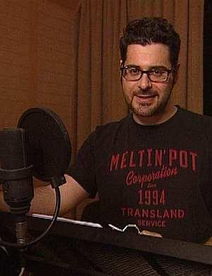 Rick Kavanian ist öfter im Synchronstudio als am Set