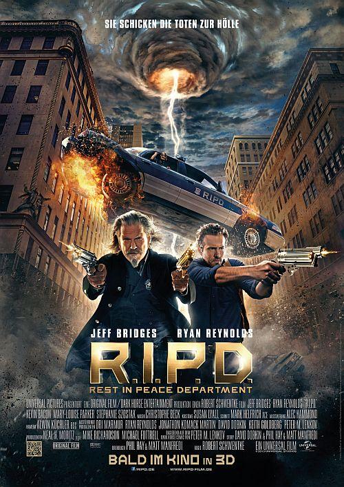 Filmplakat zu R.I.P.D. - Rest in Peace Department 3D