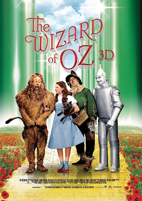 Filmplakat zu Der Zauberer von Oz 3D
