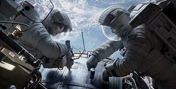 """George Clooney in """"Gravity 3D"""""""