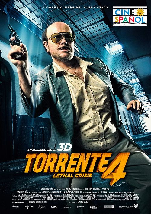 Filmplakat zu Torrente 4 - Cinespanol 3
