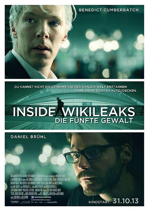 Filmplakat zu Inside Wikileaks - Die fünfte Gewalt