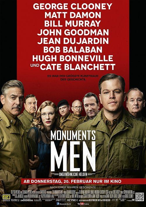 Filmplakat zu Monuments Men - Ungewöhnliche Helden