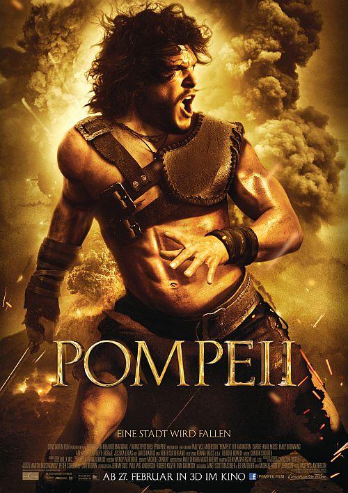 Filmplakat zu Pompeii 3D