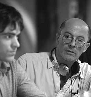 Regisseur Jacques Audiard mit Romain Duris