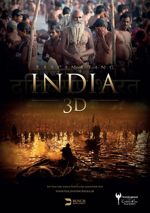 Filmplakat zu Fascinating India 3D