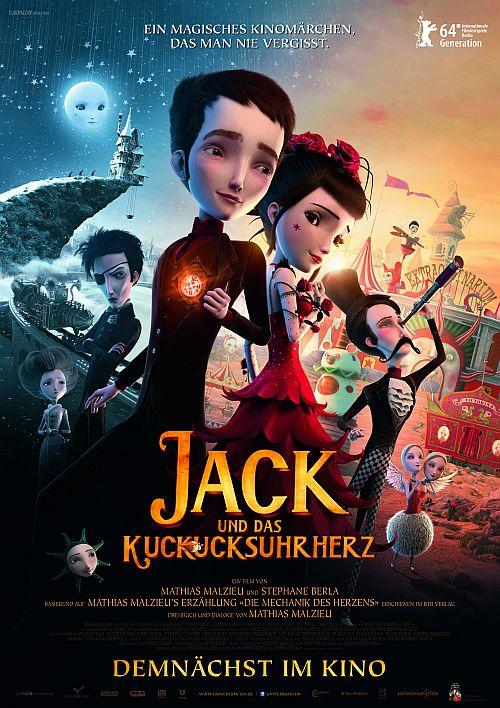Filmplakat zu Jack und das Kuckucksuhrherz