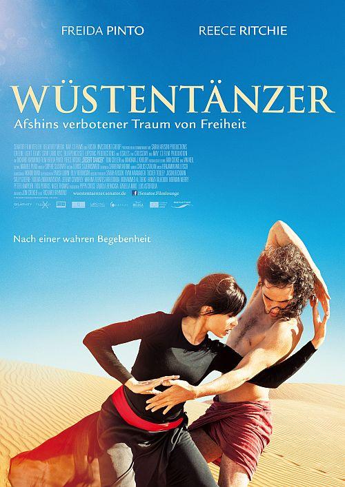 Filmplakat zu Wüstentänzer - Afshins verbotener Traum von Freiheit