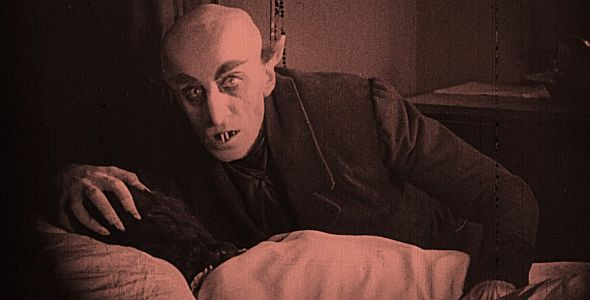 Nosferatu - Eine Symphonie des Grauens (quer) 1921