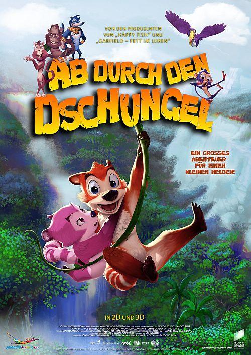 Ab durch den Dschungel 3D (Kino) 2014