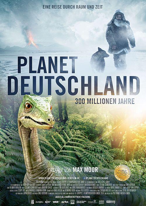 Filmplakat zu Planet Deutschland - 300 Millionen Jahre