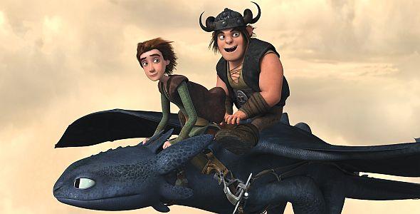 Dragons - Die Reiter von Berk Vol. 4, Die Drachenreiter von Berk (quer) 2012