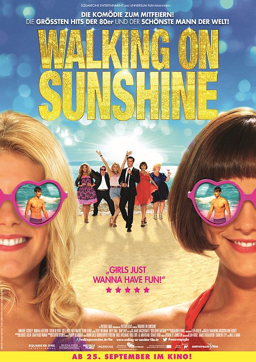Filmplakat zu Walking on Sunshine