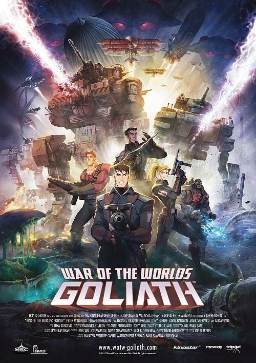 Filmplakat zu War of the Worlds: Goliath 3D