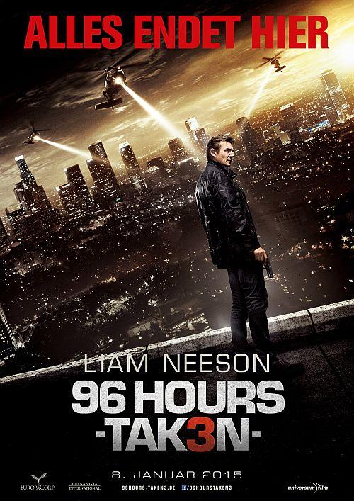 96 Hours - Taken 3 (Kino neu) 2014