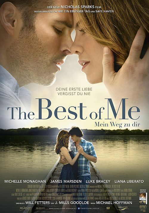 Filmplakat zu The Best of Me - Mein Weg zu Dir