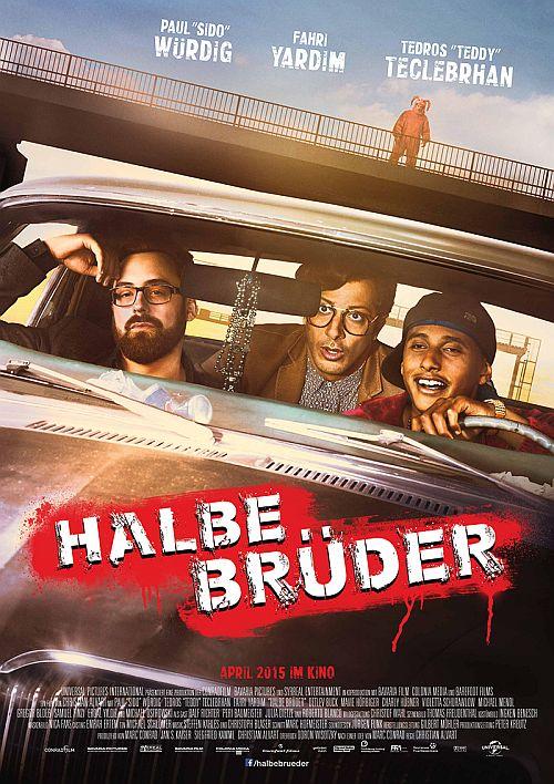 Filmplakat zu Halbe Brüder