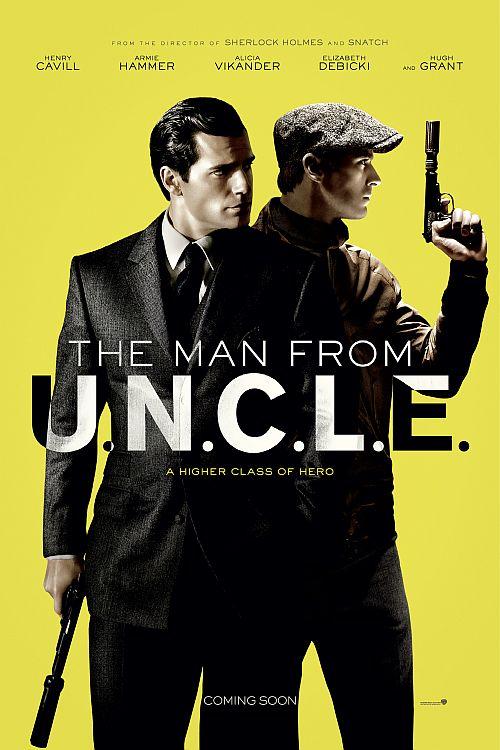 Filmplakat zu Codename U.N.C.L.E.