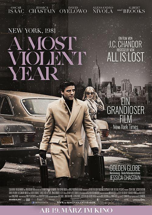 Filmplakat zu A Most Violent Year