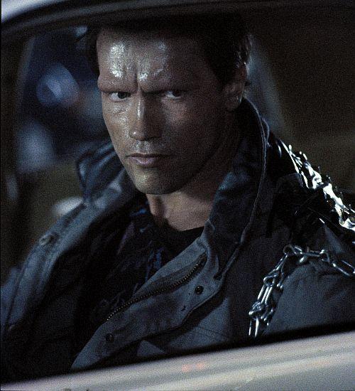 Arnold Schwarzenegger, Terminator (Szene) 1984