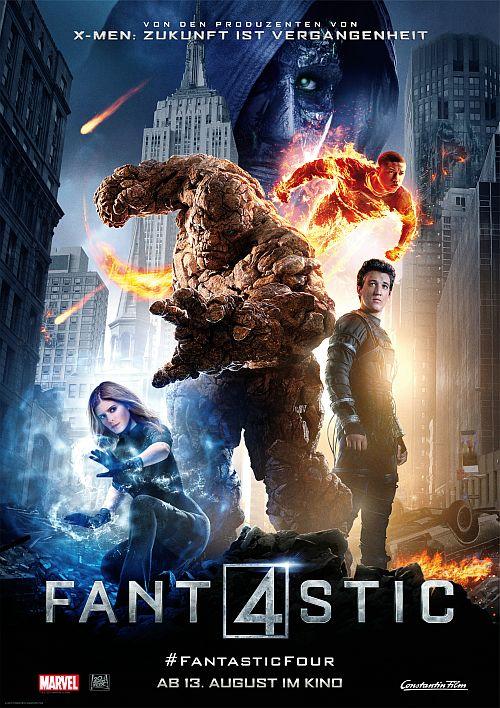 Filmplakat zu Fantastic Four 3D