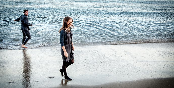 Christian Bale, Natalie Portman, Knight of Cups (querG) 2015