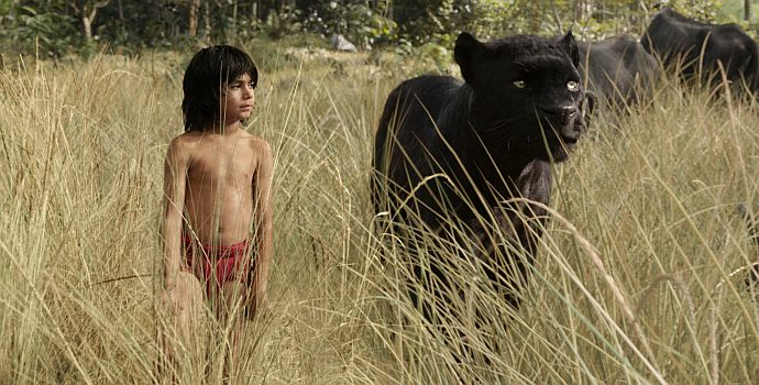 "Neel Sethi ist Mowgli in ""The Jungle Book 3D"" (2016)"