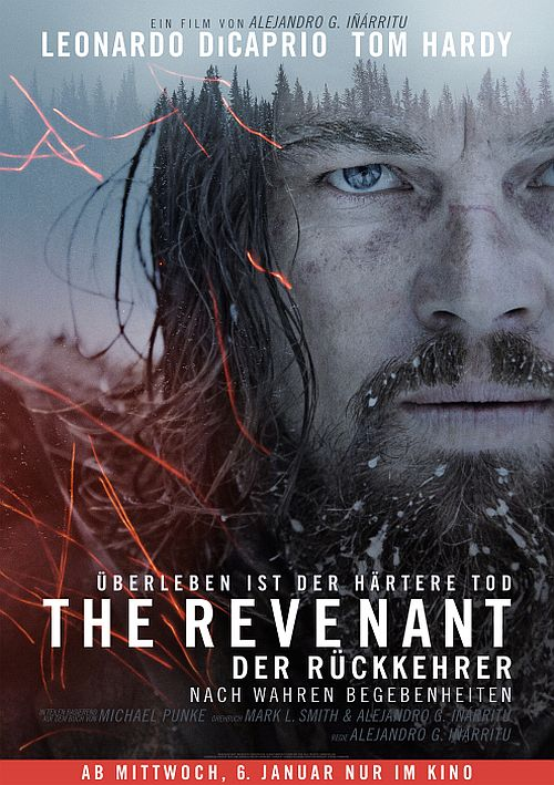 Filmplakat zu The Revenant - Der Rückkehrer
