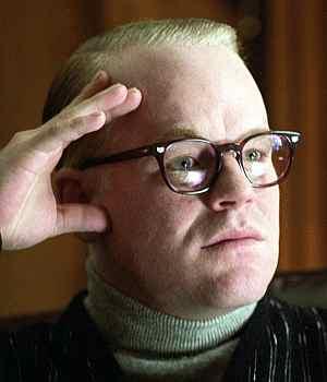 Philip Seymour Hoffman als Schriftsteller Truman Capote