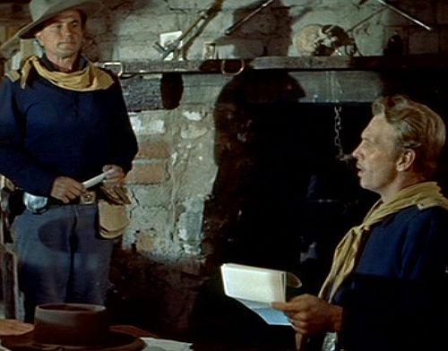 Die weiße Feder (Szene) 1955