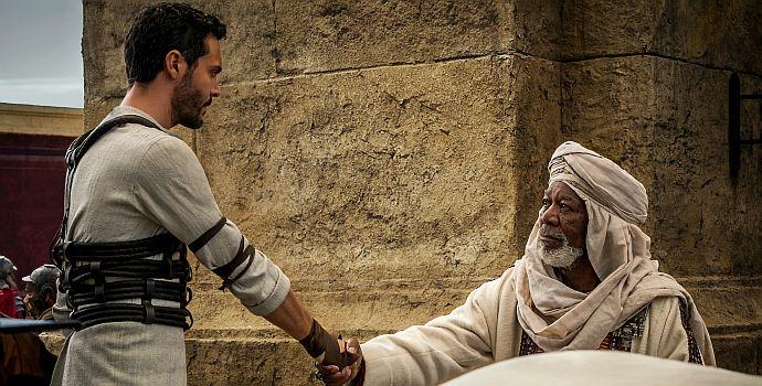 Jack Huston, Morgan Freeman, Ben Hur, Ben-Hur (BH-09315R4 querG) 2016