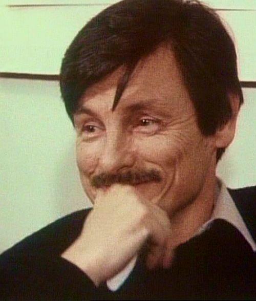 "Andrej Tarkowskij am Set von ""Opfer"""