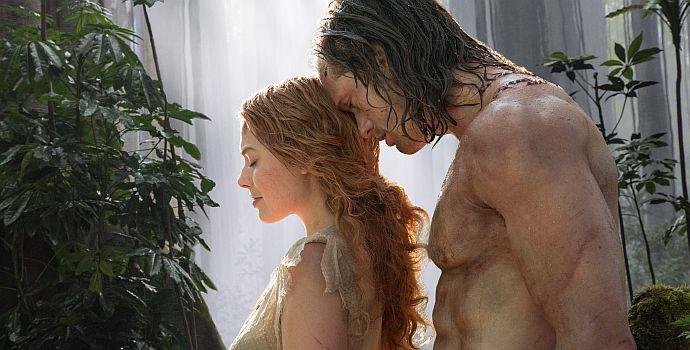 """Margot Robbie und Alexander Skarsgård in """"The Legend of Tarzan 3D"""""""
