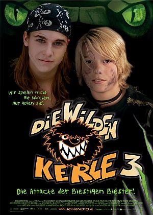 Poster: von den wilden Kerlen mit Sarah Kim Gries und Leon Wessel-Masannek