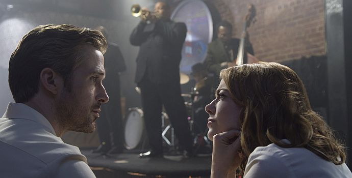 "Im ""La La Land"": Emma Stone und Ryan Gosling"