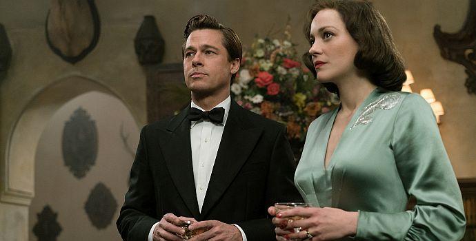 """Marion Cotillard und Brad Pitt in """"Allied - Vertraute Fremde"""" (2016)"""