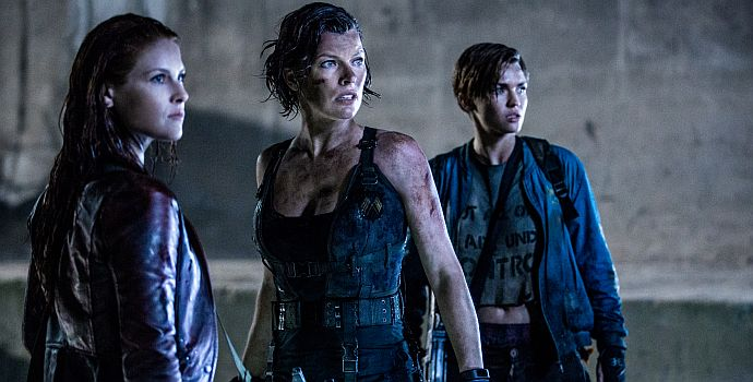 """Ali Larter, Milla Jovovich und Ruby Rose in """"Resident Evil: The Final Chapter 3D"""""""