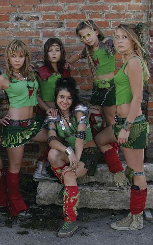 Erstmals spielen die Mädchen eine wichtige Rolle, und das mit viel Power!