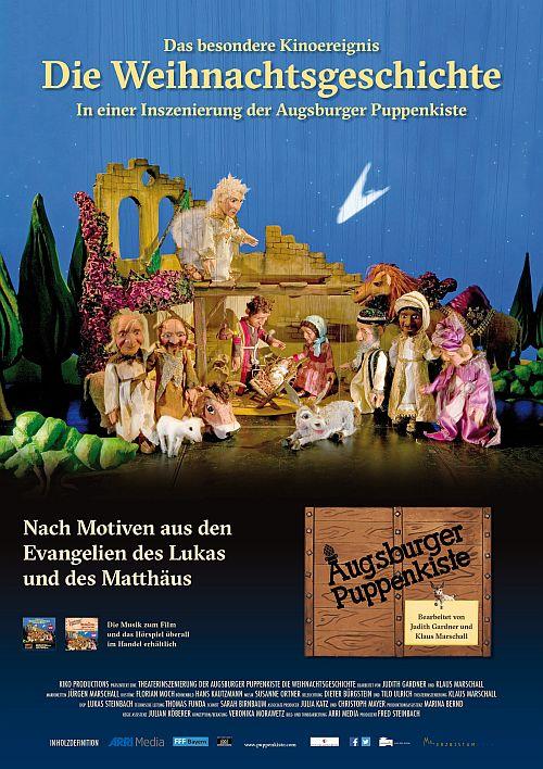 Die Weihnachtsgeschichte in einer Inszenierung der Augsburger Puppenkiste (Kino) 2016