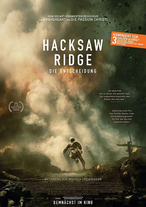 Filmplakat zu Hacksaw Ridge - Die Entscheidung