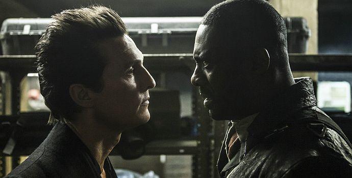 Matthew McConaughey, Idris Elba, Der dunkle Turm, The Dark Tower (querG) 2017