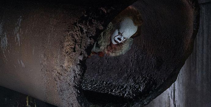 "Bill Skarsgård als Clown Pennywise in ""Es"" (It, 2017)"