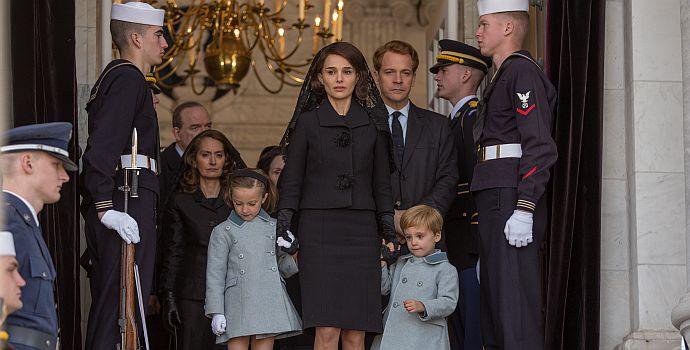 """Natalie Portman & Peter Sarsgaard in """"Jackie: Die First Lady"""" (2017)"""