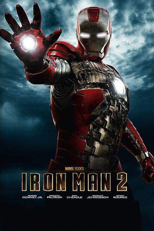 Filmplakat zu Iron Man 2
