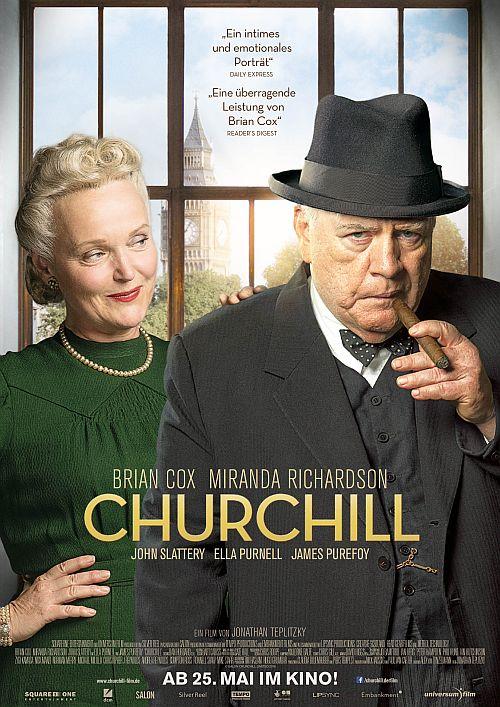 Filmplakat zu Churchill